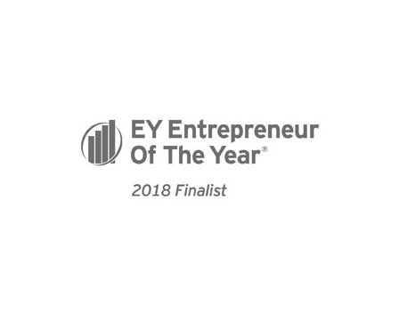 Entrepreneur of the year 2018 finalist logo