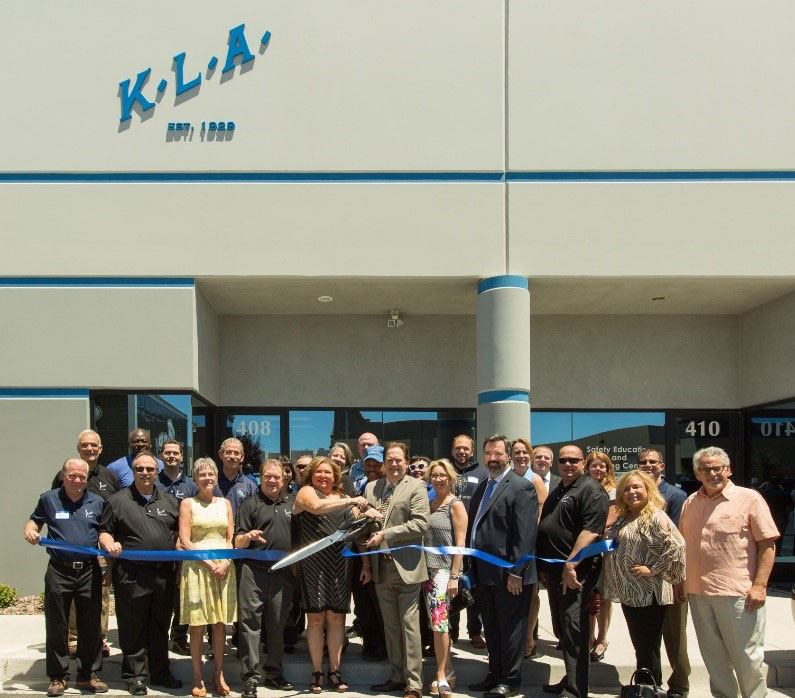 KLA Las Vegas office grand opening