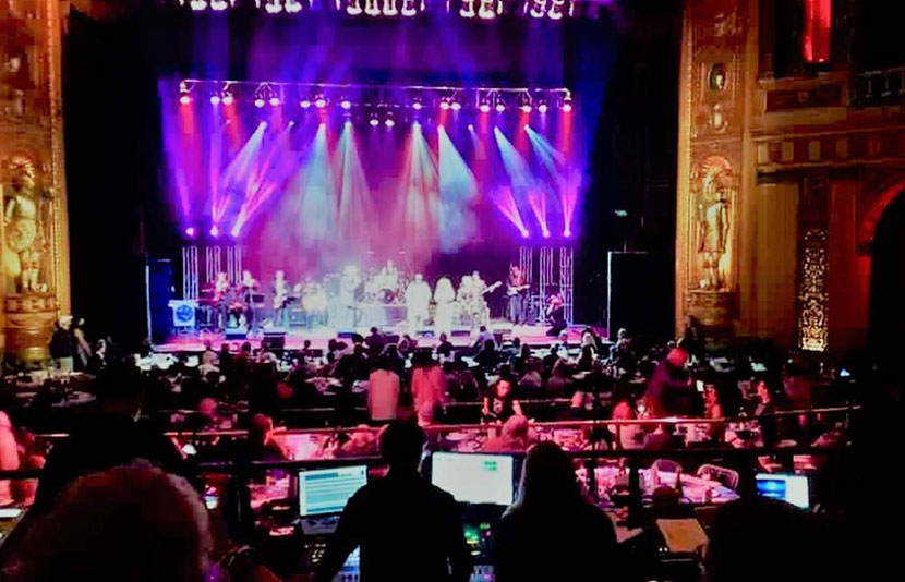 KLA managing event production at  the 2018 Detroit Music Awards