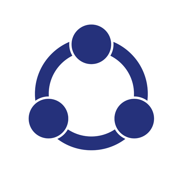 Circle Icon for Collaboration