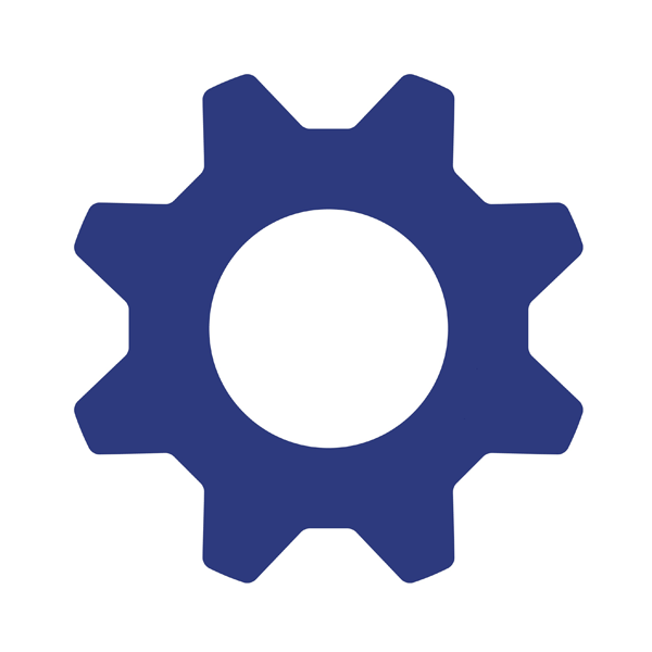 Custom Solutions Gear Icon