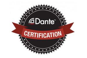 Dante Certification logo