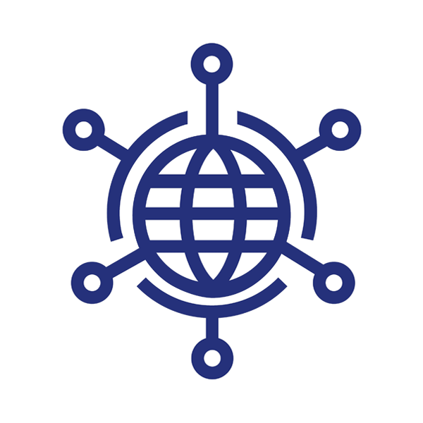 IT Solutions Globe Icon