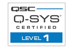 Q-SYS Training-badges Level 1