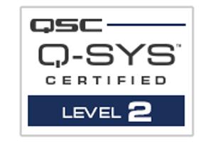 Q-SYS Training-badges Level 2